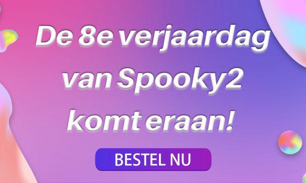 De 8e verjaardag van Spooky2 komt eraan!